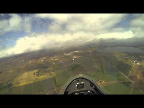 My first glider flight! Grob G103a Twin II - Byron Airport, CA