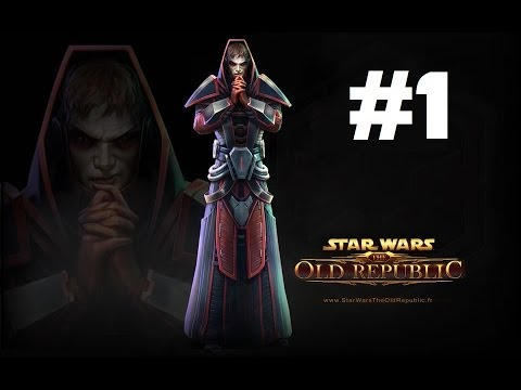 Star wars the old republic 1 la cr ation de personnage - Star wars gratuit ...