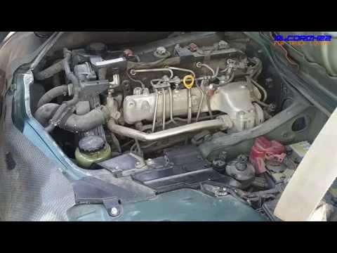Toyota 2KD-FTV Euro3 Engine View