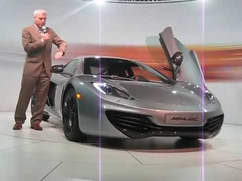 McLaren MP4-12C Unveiling in New York with Commentary by Frank Stephenson