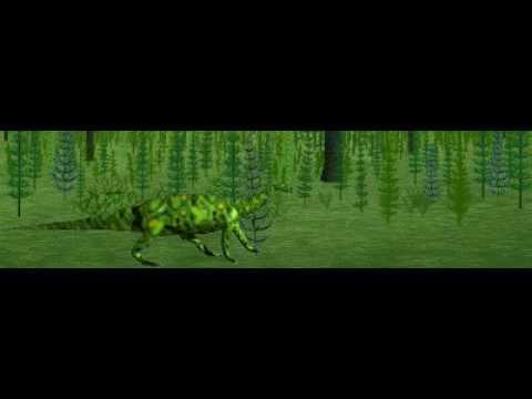 Dinosaur Safari (Early Jurassic) Clip #6: Anchisaurus
