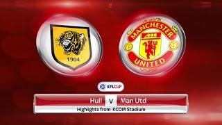 Hull City Vs Manchester United (2nd Leg) - All Goals & Highlights - EFL Cup