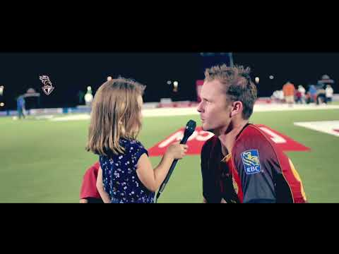 Inside TKR | Colin Munro's daughter Chloe interviews the Knights | CPL 2018