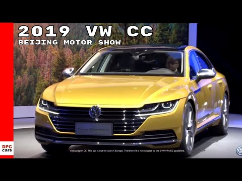 2019 VW CC At Beijing Motor Show – Auto China 2018