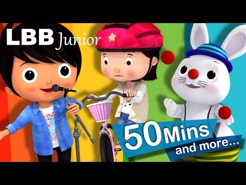 Children's Songs Volume 1 | 50 Minutes Compilation from LBB Junior!