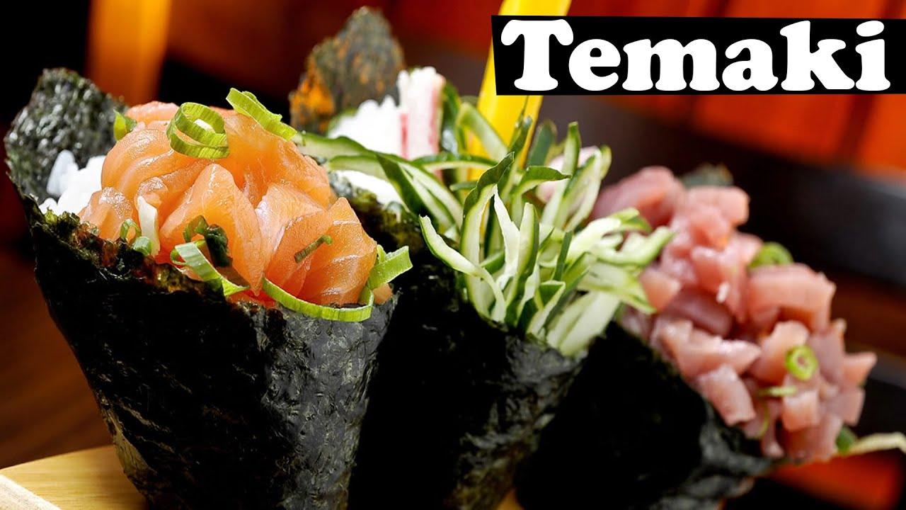Populares Como Fazer Temaki | Comida Japonesa | #MINICOZINHA - YouTube GH28
