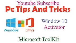 How to Activate Window 10 using Microsoft Toolkit  |  100 % Working