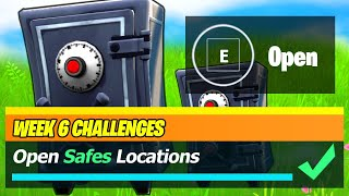 Open Safes & Safes LOCATIONS - Fortnite