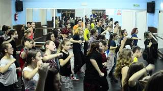 SIMONA MEREU Aidonia - Kush inna mi brain X-MAS TOUR 2014, Iasi - Beginners workshop