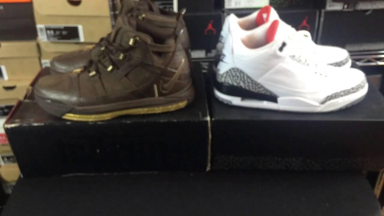 351eee26986 Jordan vs Lebron Sneakers Series Part 3  Air Jordan 3 vs Nike Zoom Lebron 3  - YouTube