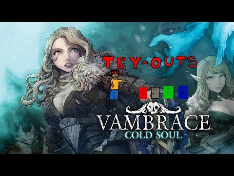 Try-Outs: Vambrace: Cold Soul  