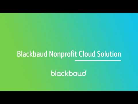 Blackbaud Chaptered Product Tour Teaser