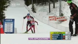 Magdalena Neuner holt Staffelgold
