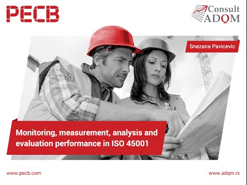 Monitoring, measurement, analysis, and evaluation performance in ISO 45001