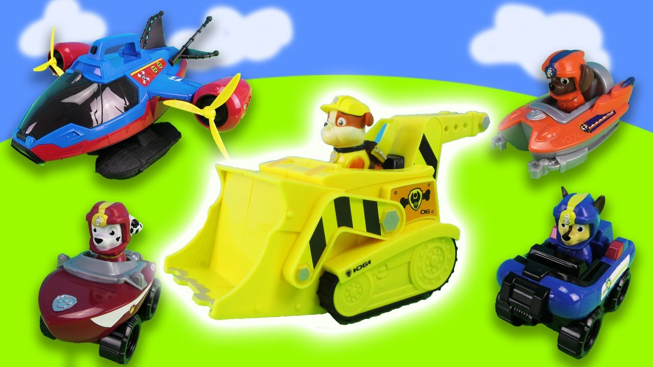 Dangerous rescue missions for the Paw patrol! New threats needs to be overcome