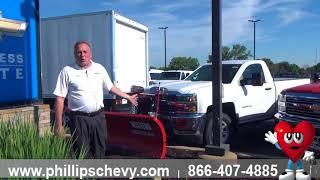 Phillips Chevrolet - 2018 Chevy Silverado 2500 - Snow Plowing - Chicago New Car Dealership