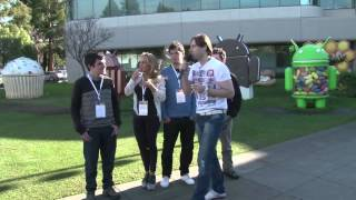 El Developer Bus mostrando todo el talento e innovación desde el Googleplex