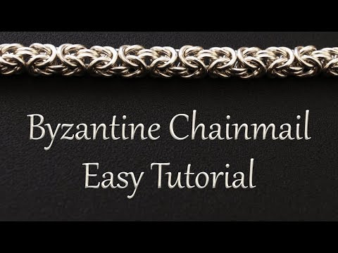 Byzantine Chainmail Weave Tutorial - Easy Instructions for