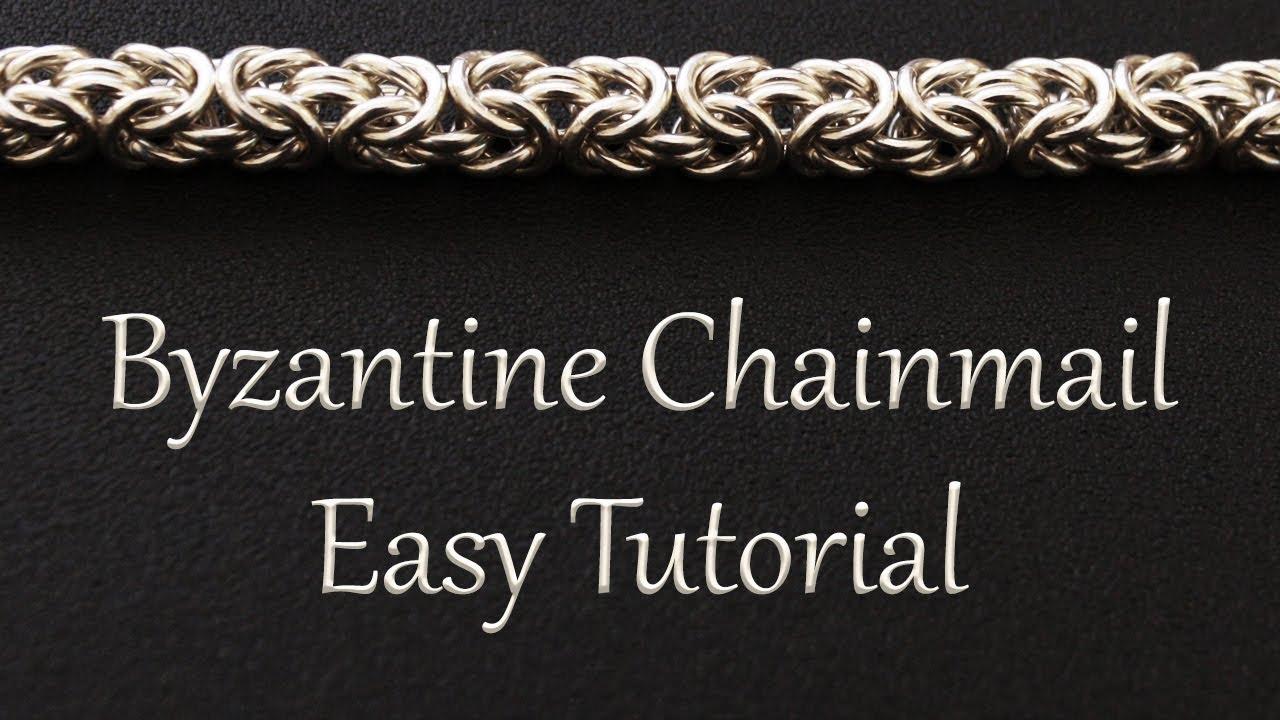 Byzantine Chainmail Weave Tutorial