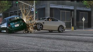 GTA 5 PC: 60FPS Realistic Crash Deformation Mod