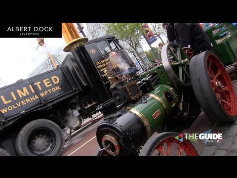 All the highlights from Steam on the Dock 2017 at Albert Dock Liverpool   The Guide Liverpool