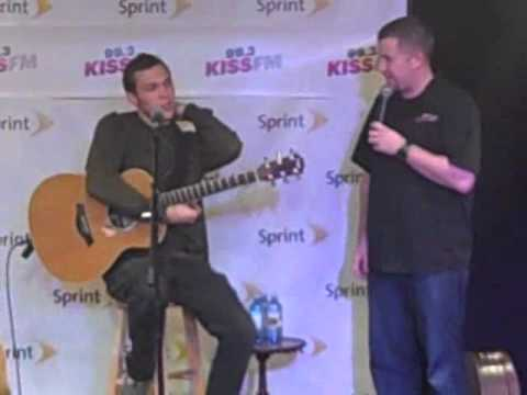 Phillip Phillips interview 99.3 Kiss FM - 11/7/2013 Part 1
