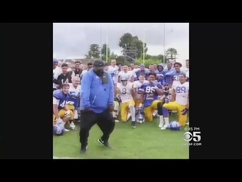 San Jose State Football Coach Inspires With Old-School Dance Moves