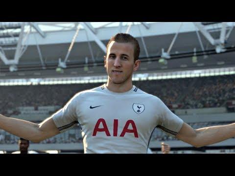 FIFA 18 | West Ham vs Tottenham Hotspur Premier League Gameplay