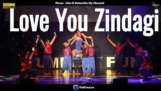 Love You Zindagi Club Mix | Dear Zindagi |Alia Bhatt|Shah Rukh Khan |Shiamak London Summer Funk 2017