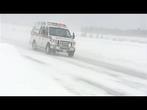 Blizzard slams Atlantic Canada