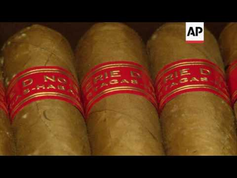 Taste for Cuban cigars expands in Cambodia