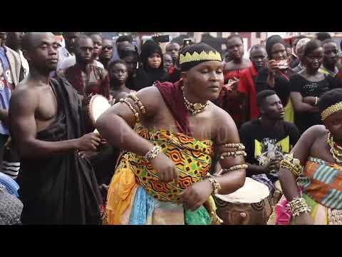 Wow Custum Adowa Dance @ Asantehemaa Funeral