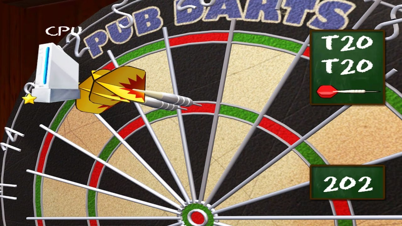 Wiiware Pub Darts Wii Gameplay Hd 1080p Youtube
