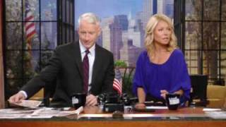 1 10 06 30 09 anderson cooper on live with regis kelly