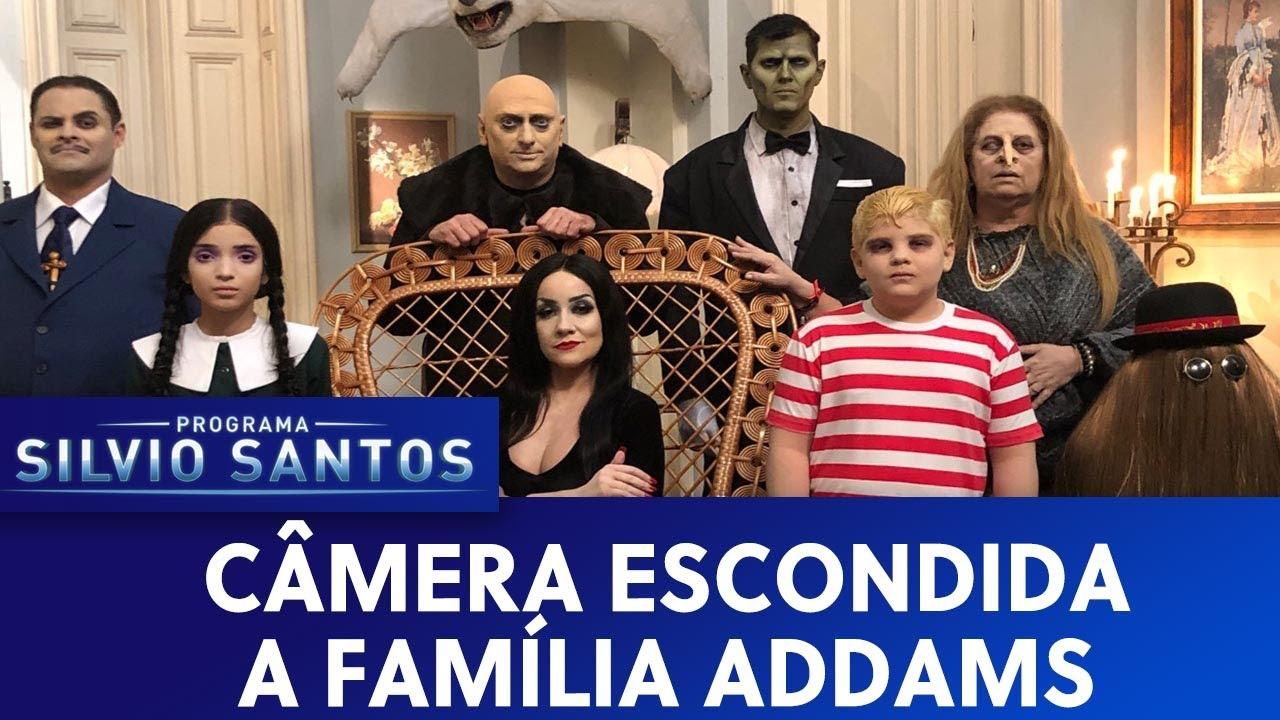 A Família Addams - The Addams Family Prank | Câmeras Escondidas (27/10/19)