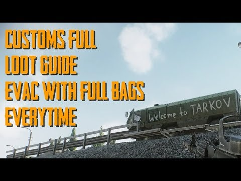 Escape From Tarkov Safe and Easy Full Customs Loot Guide