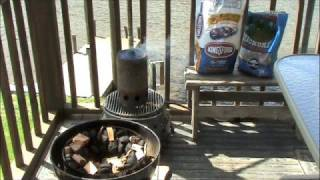 Smoked Pork Ribs And Grilled Gator (part 1)