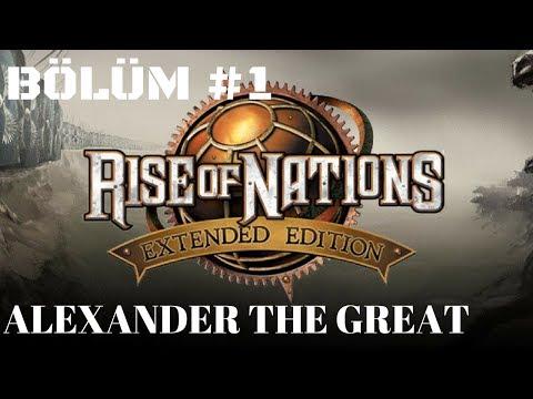 Rise of Nations Türkçe Oynanış #1 - Alexander The Great