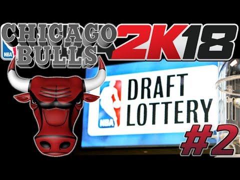 NBA 2k18 MyLEAGUE | Chicago Bulls #2 | Draft Lottery + Draft
