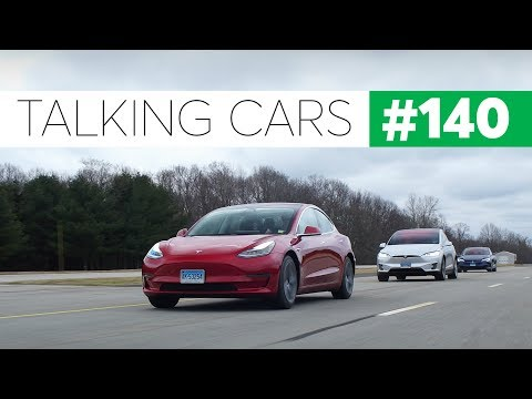 Tesla Model 3 First Impressions | Talking Cars with Consumer Reports #140