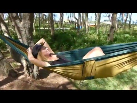 Travel Hammock Demonstration