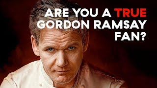 Gordon Ramsay Quiz: How Much Do You Really Know?