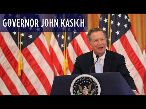 Governor John Kasich at the Nixon Library