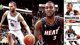 The Evolution Of NBA Live 🏀  | NBA Live 06 - 09 XBOX360!!! Ep.3 | The Road To NBA Live 18