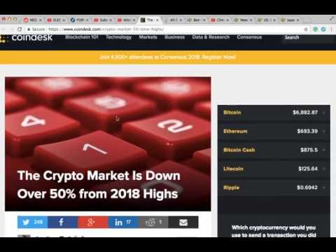 Altcoin Daily News- Lower Lows, China FOREIGN trading Ban, USA Regulations, CryptosRUs