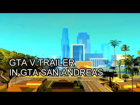 Detailed Remake: GTA V Trailer in GTA San Andreas