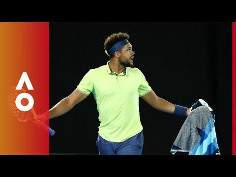 Not happy Tsonga | Australian Open 2018