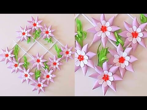 Paper Wall Hanging Craft Ideas Wall Decoration Ideas Paper Craft