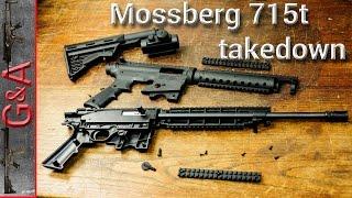 Mossberg 715t Takedown 22lr