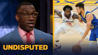 Skip \u0026 Shannon on Curry naming Patrick Beverley as one of his toughest defenders | NBA | UNDISPUTED